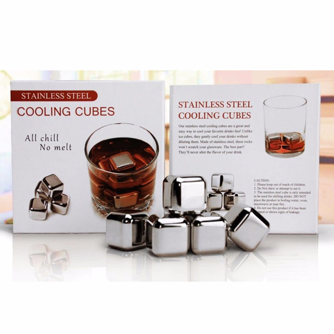 STAINLESS COOLING CUBES