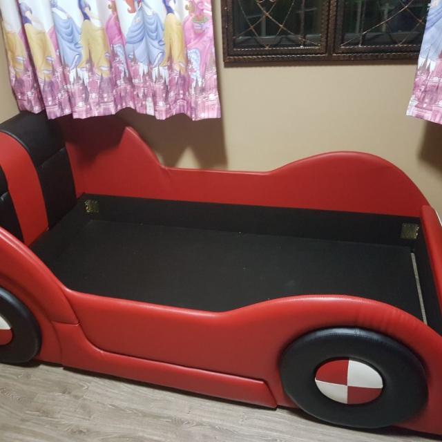 Super Single Car Bedframe