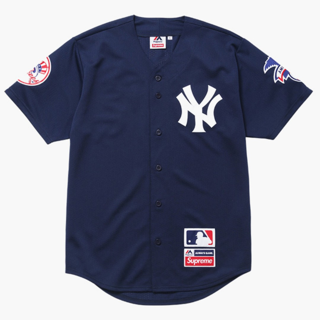 Pre-Order  Supreme x New York Yankees Jersey 281f75667fb