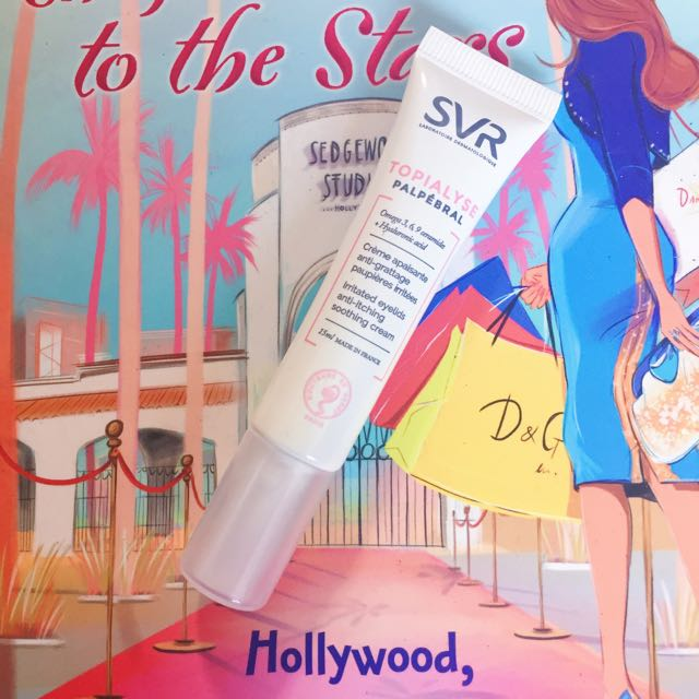 SVR Topialyse; Soothing Cream for Eyelids