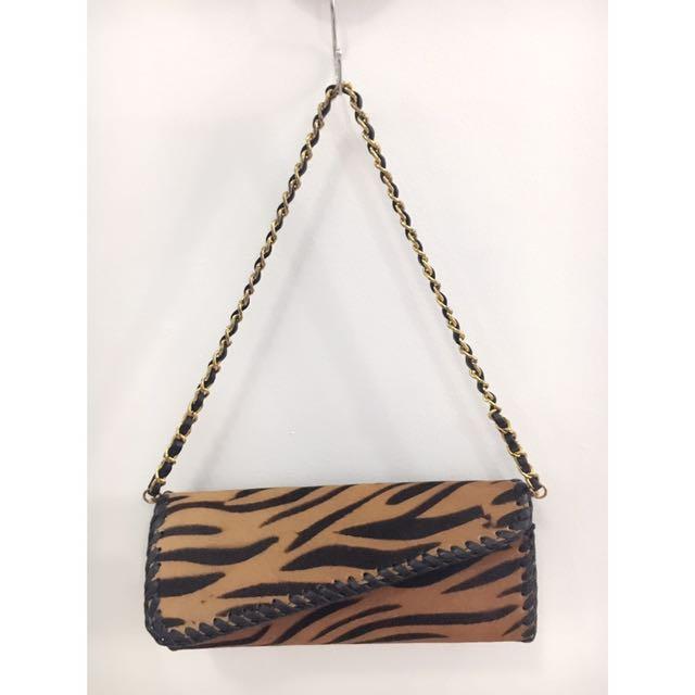 Horsehair Brown Bag