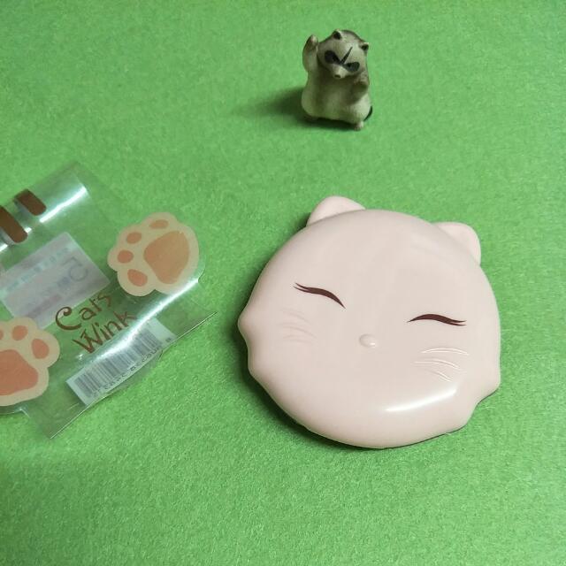 🌰Tonymoly 魔法森林 Cats Wink 微笑貓咪粉餅 #2 #兩百元彩妝出清