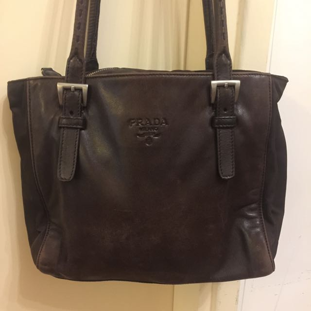 Vintage PRADA shoulder Bag AUTHENTIC