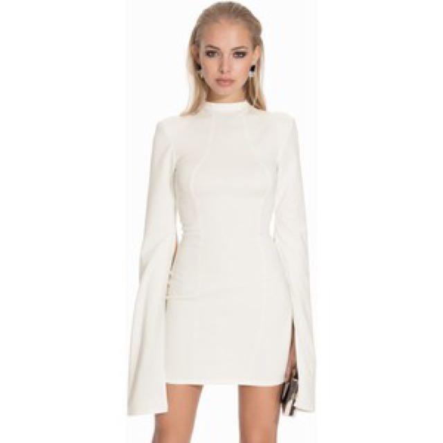 Size 6 White John Zack Petite Mini Dress