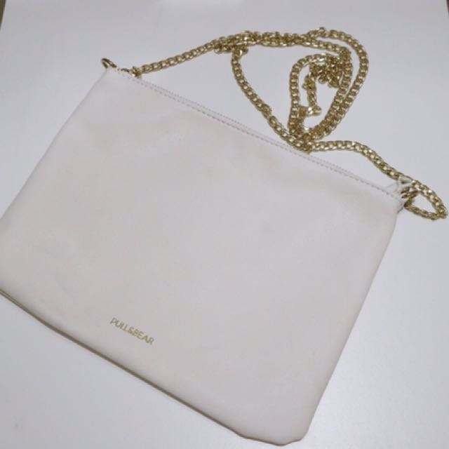WHITE PULL&BEAR BAG