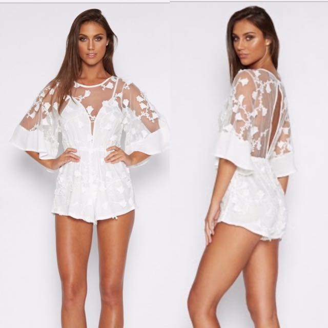 Who is That Girl Playsuit Size S