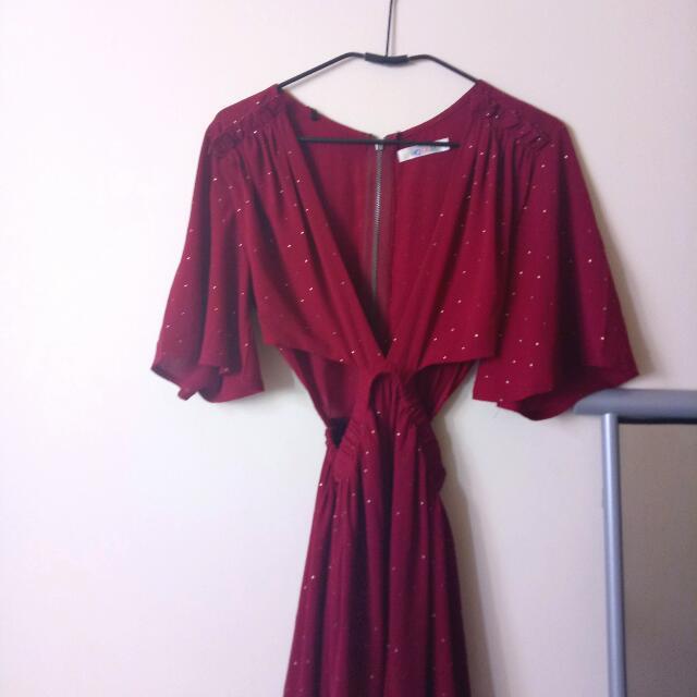 whoami cutout dress