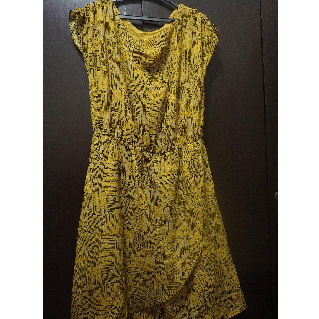 Xara Yellow Dress