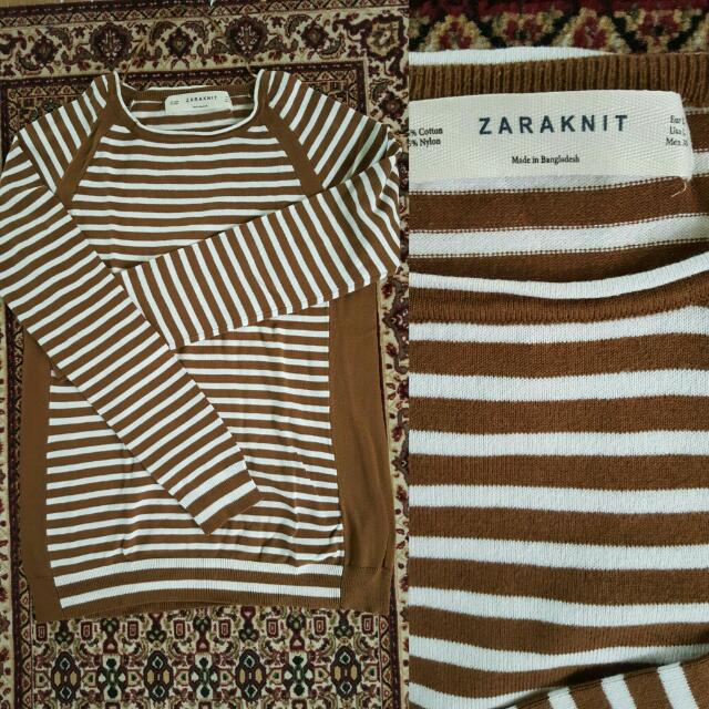 zara knit size L