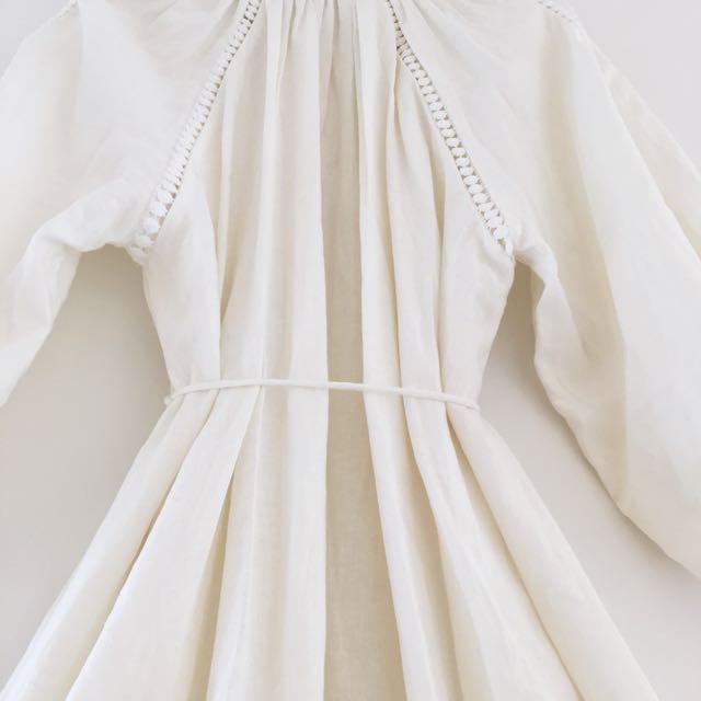 Zimmermann Alchemy Appliqué Smock Dress