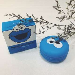 It's Skin Macaron Lip Balm - Love Choco x Cookie Monster