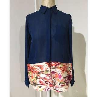 NIKICIO FEMME crepe blouse