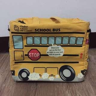 (含運)公車造型大型媽媽包
