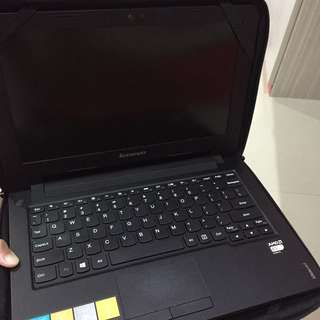LAPTOP LENOVO IDEAPAD S215 (NOTEBOOK NOTE BOOK NOTEPAD NOTE PAD) BISA NEGO