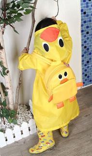 Jas hujan anak Ponco children funny raincoat waterproof murah - ACG042