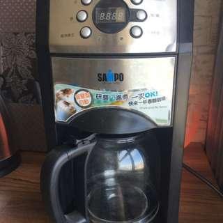 二手聲寶自動研磨咖啡機(K-HM-L8101GL)