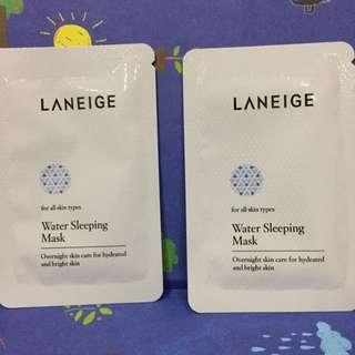 Laneige Water Sleeping Mask Sample