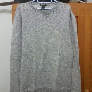 WTS H&M Basic Sweater warna Abu Abu