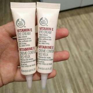 Sale Body Shop Vit E Eye Cream