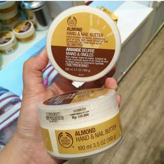 Sale Body Shop Almond Hand and Nail Butter
