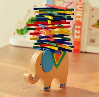 mainan anak untuk keseimbangan balok batang - ahm068