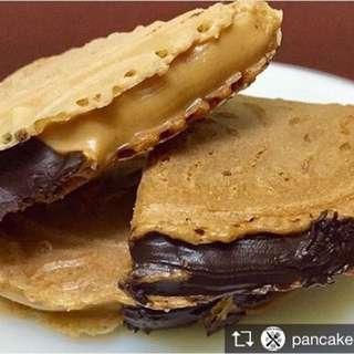Kuih Raya Murah (Kuih Sepit Chocolate & Peanut Butter
