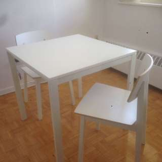PRICE REDUCED!!!! IKEA Dining set with dining table and two chairs
