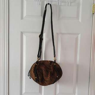Tiger Print Side Bag (non Branded)