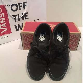 Vans Era Black shoes (size US 7)