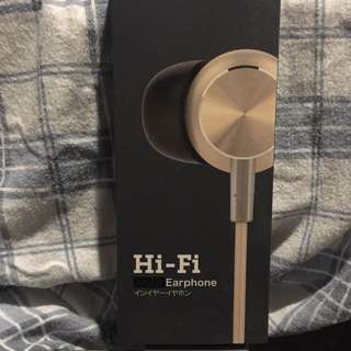 Gold Earphones