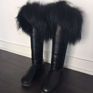 Tsar Style REAL FUR Boots FREE Pickup Only
