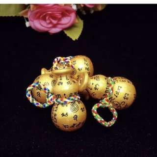 龍婆樂寶葫蘆,會吸財的寶葫蘆,經文吸財小葫蘆(正牌不用供奉,隨心帶上就可以)