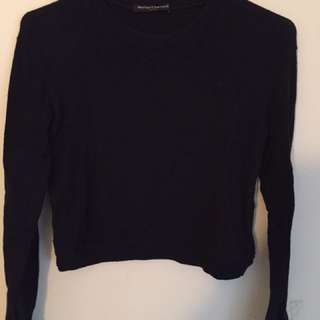 Brandy Melville Navy Sweater