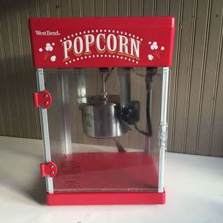 Mini Theatre-style Popcorn Machine!
