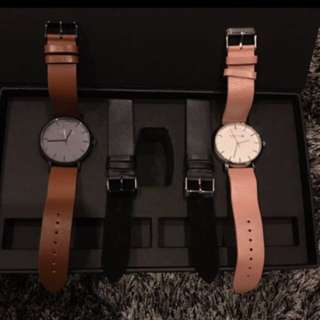 BNWT Unisex Leather Watches