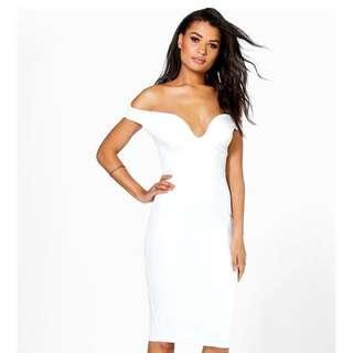 💕White Off the Shoulder Dress