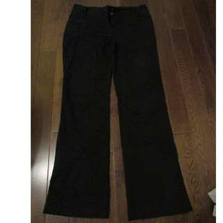 Womens Black Office Pants Size 4