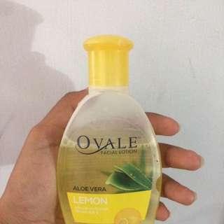 Ovale Face Lation Aloevera Lemon
