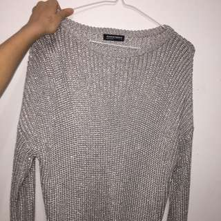American Apparel Sparkly Knit Sweater