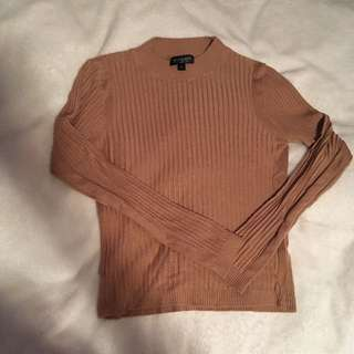 Topshop ripped sweater
