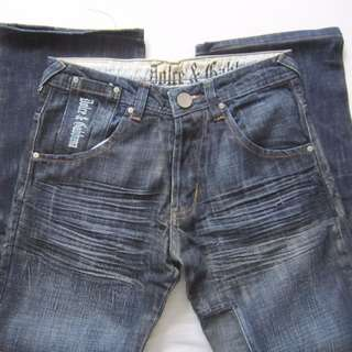 d1edffdc3386 Vintage D G Dolce Gabbana Designer Denim Jeans
