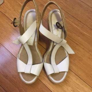 Tony Bianco Wedges In White (37)