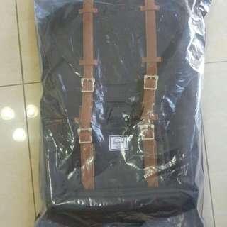 BNIB Herschel Little America Backpack (Black)