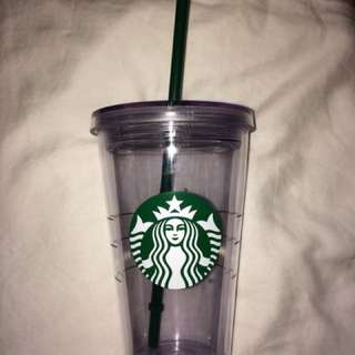 Starbucks Grande Clear Cup