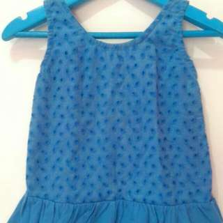 Blue Dress Baby Murah