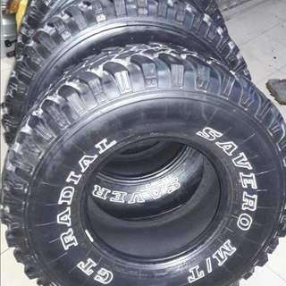 4x4 tayar MT savero gt radial 33x12.5x15