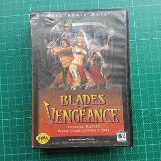 Blades Of Vengeance Sega Genesis Game