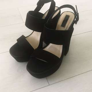 Forever21 Chunky High Heels