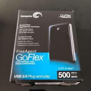 Seagate - 500GB External Drive