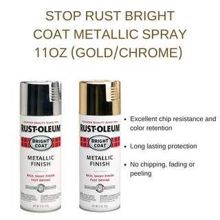 Rust-Oleum Metallic Spray (GOLD/CHROME)